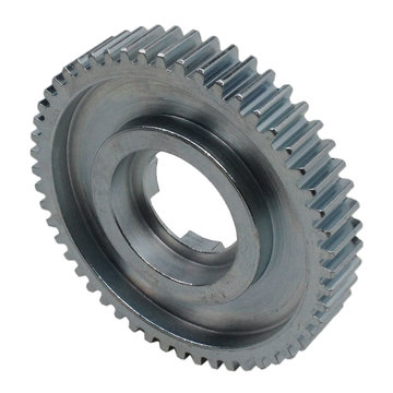 View larger image of 52 Tooth 20 DP 0.875 Round Bore Steel Dog Pattern Gear