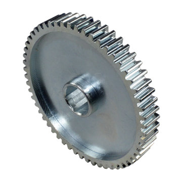 View larger image of 56 Tooth 20 DP 0.5 in. Hex Bore Steel Gear with Pocketing