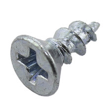 6-13 x 0.375 in. Phillips Flat Head Wood Screw