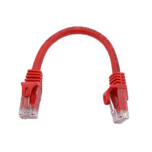 6 in. Red Ethernet Cable