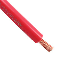 6 gauge red multistrand wire, 10ft length