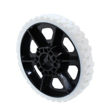 6 in. HiGrip Wheel 80 Durometer White