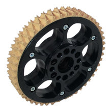 6 in. Plaction Wheel with Wedgetop Tread
