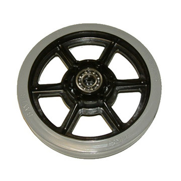 View larger image of 6 in. SmoothGrip Wheel w/ 1/2 in. Bearings