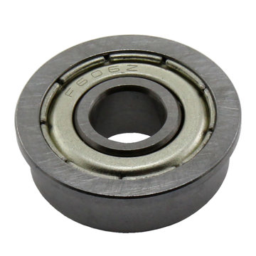 View larger image of 6 mm ID 17 mm OD Shielded Flanged Bearing (F606ZZ)