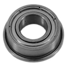 6 mm Round ID Shielded Flanged Bearing