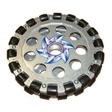 8 in. Aluminum Dualie Omni Wheel