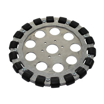View larger image of 8 in. Aluminum Omni Wheel