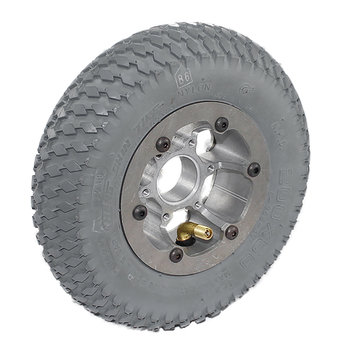 View larger image of 8 in. HD Pneumatic Wheel 1.125 in. Bearing Bore