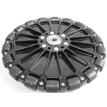 8 in. Plastic Omni Wheel w/ 3/8 in. Ball Bearings