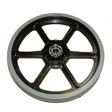 View larger image of 8 in. SmoothGrip Wheel w/ 0.5 in. Bearings