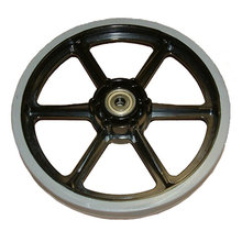 8 in. SmoothGrip Wheel w/ 0.375 in. Bearings