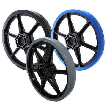 View larger image of 8 in. SmoothGrip Wheel