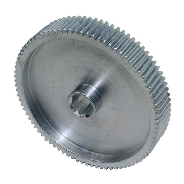 View larger image of 85 Tooth 32 DP 0.375 in. Hex Bore Steel Gear with Pocketing