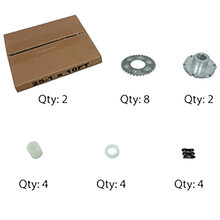 AM14U Family Upgrade Kit, #25 Chain Replacement