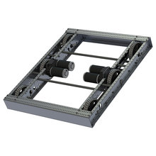 AM14U4 - 6 Wheel Drop Center Robot Drive Base - FIRST Kit of Parts Chassis