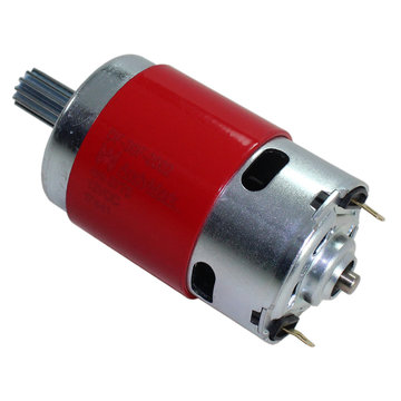 View larger image of AndyMark 775 RedLine Motor with 12T 32DP Pinion Gear Installed