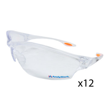 View larger image of AndyMark safety glasses - 12 Pair