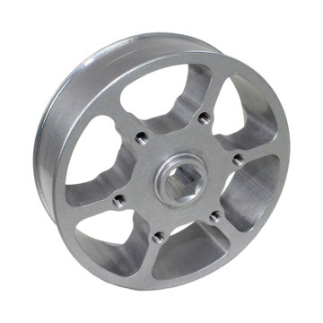 View larger image of Ship From Sydney - 4 in. Performance Wheel with 0.5 in. Hex Bore