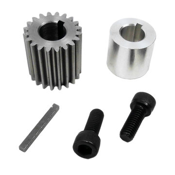 View larger image of BaneBots BB220 Gearbox CIM Mounting Kit, First Stage 4:1