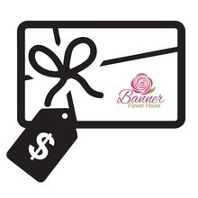 Banner Flower House Gift Card