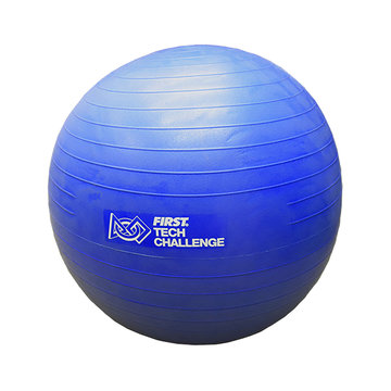 View larger image of Blue Exercise Ball with Pump