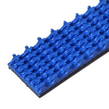 Blue Nitrile Roughtop Tread 1 in. Wide 10 ft. Long