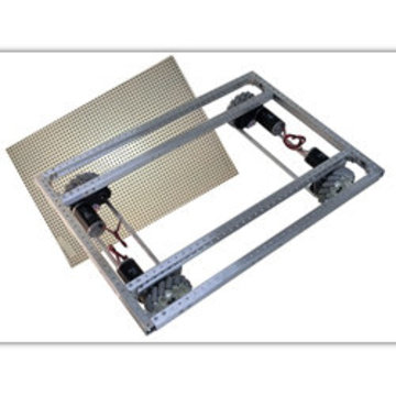 View larger image of C-Base Frame, CIMple Box Gearboxes, Direct  6 in. Mecanum