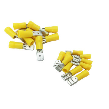 View larger image of Connector Kit 12-10 AWG Male And Female Connectors Qty 10 each