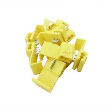 View larger image of Connector, Quick Splice, 12-10 AWG, Yellow, Qty 10