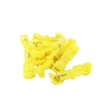 View larger image of Connector, T-Tap, 12-10 AWG, Yellow, Qty 10