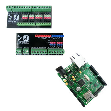 View larger image of Ethernet Arduino and Peasy Breakout Board Combo