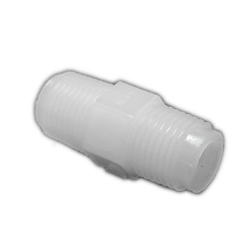 View larger image of Fitting Nylon Hex Nipple 1/4 in. NPT