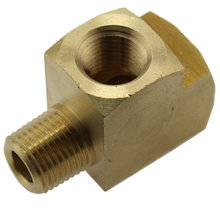 1/8 in. Female NPT x 1/8 in. Male NPT Brass Run Tee Fitting