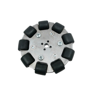 View larger image of FTC 4 in. Aluminum Omni Wheel With 8 mm Bore