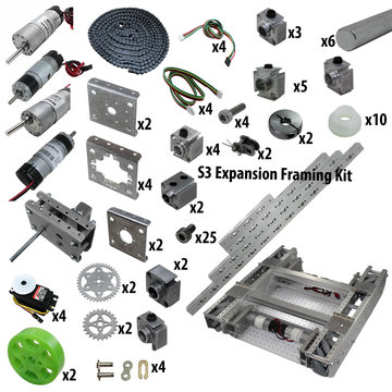 View larger image of FTC Starter Kit with HD Mecanum TileRunner and S3 Expansion Kit