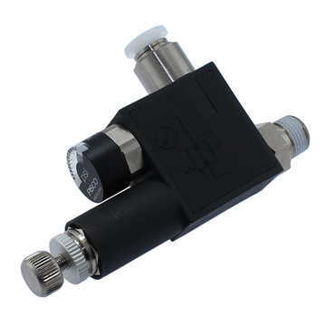 View larger image of Inline Pressure Regulator & Gauge with 1/8 in. NPT & 1/4 in. Press-in Tube Fittings