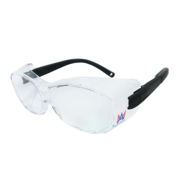 View larger image of Large Safety Glasses for over Prescription Glasses - 1 Pair