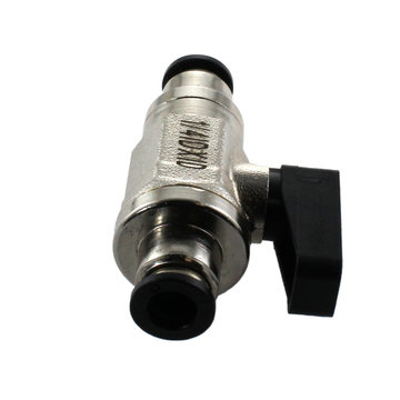 View larger image of Mini Ball Valve 1/4 in. Tube Fittings with Lever Handle