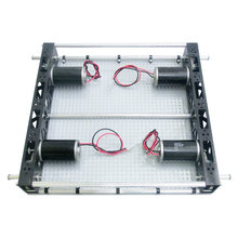 Nano Tube 20 in. Chassis, 4 gearboxes, 4 - 1/2 in. key shafts