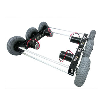 View larger image of Nano Tube 20 in. Drive Chassis, 3 Shaft, 6 Pneumatic Wheels