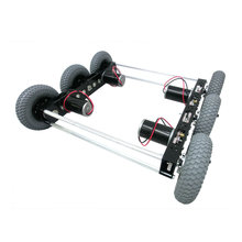 Nano Tube 20 in. Drive Chassis, 3 Shaft, 6 Pneumatic Wheels