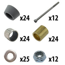 8 in. Standard Mecanum Single Wheel Outer Roller Kit