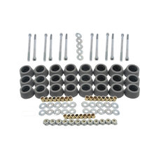 Outer Roller Kit for 8 in. Standard Mecanum, Single Wheel