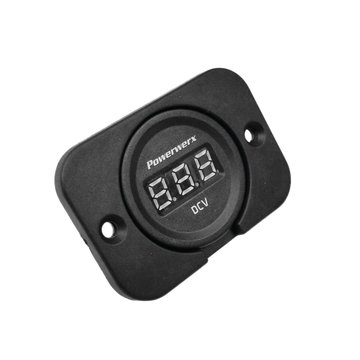 View larger image of Panel Mount Digital Volt Meter