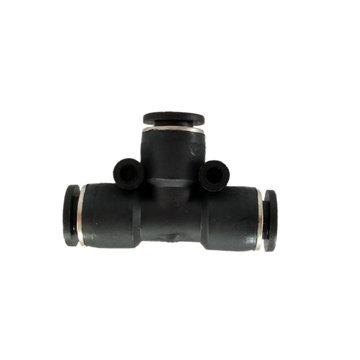 View larger image of Pneumatic fitting, union tee, 1/4 in. tube