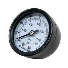 Pressure Gauge, 1/8 in. NPT, 0-160 PSI