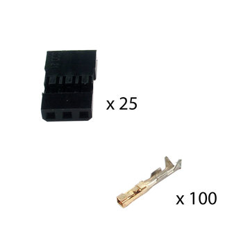 View larger image of PWM Female Connector (25 Housings, 100 Pins)