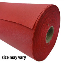 Red Bumper Material Remnant, 48 in. long or greater x 19 in. wide