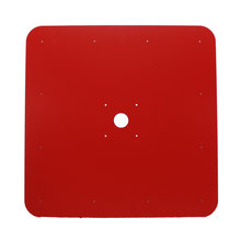 Red EuroBoard 23 in. Square